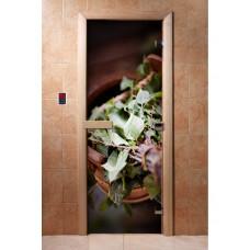 Дверь стеклянная с фотопечатью Арт. А008 1900х700