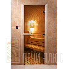 Дверь стеклянная с фотопечатью Арт. А031 1900х700