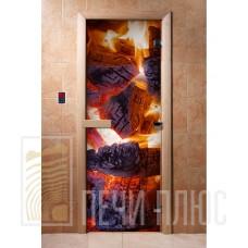Дверь стеклянная с фотопечатью Арт. А060 1900х700