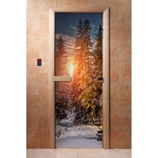 Дверь стеклянная с фотопечатью Арт. А093 1900х700