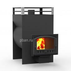 Печь банная Жара-Стандарт 650У с панорамным стеклом