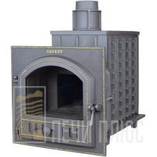 "Печь для бани чугунная ""Гефест ПБ-03"" Панорама"
